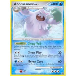 Abomasnow - 12/100