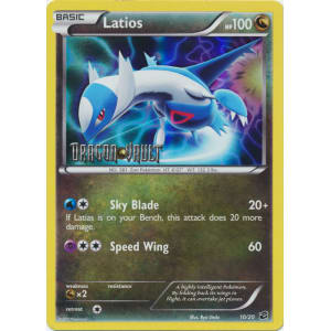 Latios - 10/20 - Dragon Vault Stamped Mirror Holo