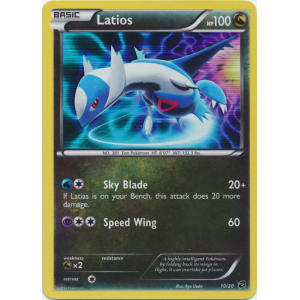 Latios - 10/20 - Normal Holo