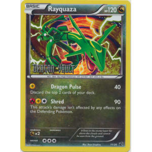 Rayquaza - 11/20 - Dragon Vault Stamped Mirror Holo