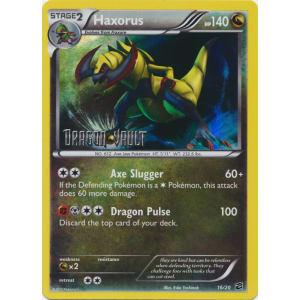 Haxorus - 16/20 - Dragon Vault Stamped Mirror Holo