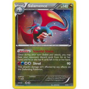 Salamence - 8/20 - Cosmos Holo