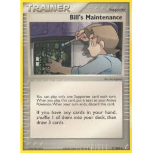 Bill's Maintenance - 71/100
