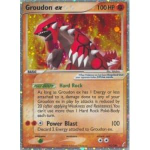 Groudon ex - 93/100