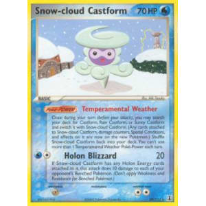 Snow-cloud Castform - 29/113