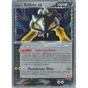 Rocket's Raikou ex - 108/107