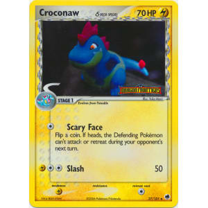 Croconaw - 27/101 (Reverse Foil)