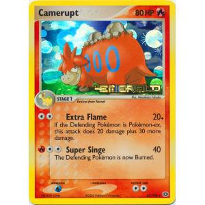 Camerupt - 23/106 (Reverse Foil)