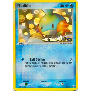 Mudkip - 56/106 (Reverse Foil)