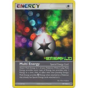 Multi Energy - 89/106 (Reverse Foil)