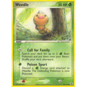 Weedle - 86/112