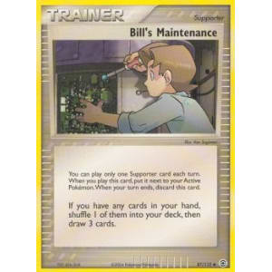 Bill's Maintenance - 87/112