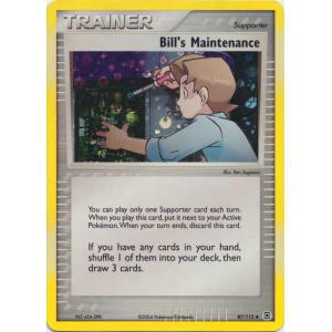 Bill's Maintenance - 87/112 (Reverse Foil)