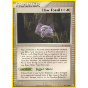 Claw Fossil - 91/110