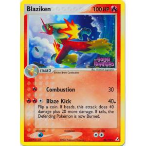 Blaziken - 20/110 (Reverse Foil)
