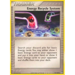 Energy Recycle System - 73/108