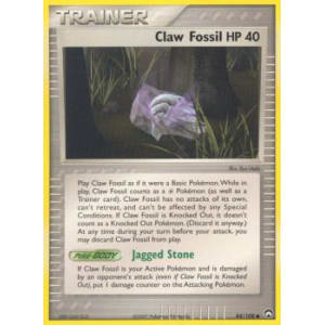 Claw Fossil - 84/108