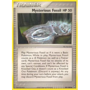 Mysterious Fossil - 85/108
