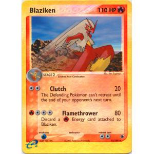 Blaziken - 15/109 (Reverse Foil)