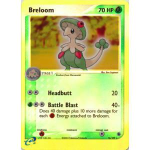 Breloom - 16/109 (Reverse Foil)