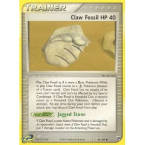 Claw Fossil - 90/100