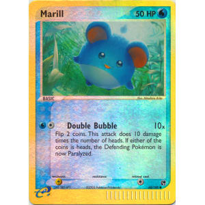 Pokemon Card Marill EX Sandstorm 68//100 in Good Condition!