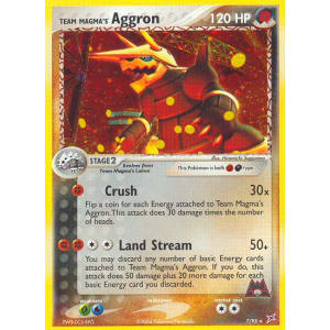 Team Magma's Aggron - 7/95