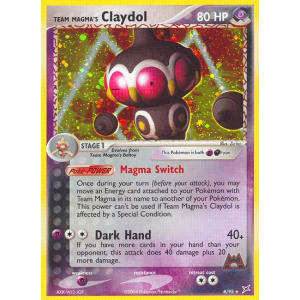 Team Magma's Claydol - 8/95
