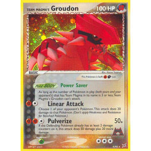 Team Magma's Groudon - 9/95
