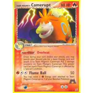 Team Magma's Camerupt - 19/95