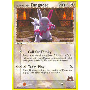 Team Magma's Zangoose - 23/95