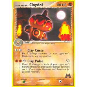 Team Magma's Claydol - 33/95