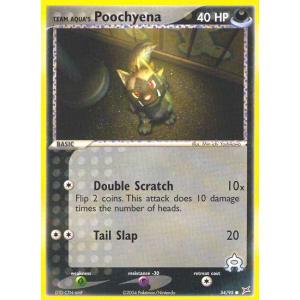 Team Aqua's Poochyena - 54/95