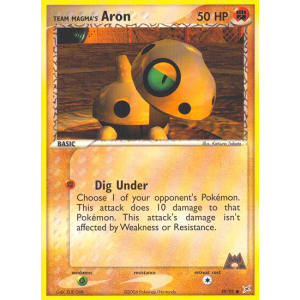 Team Magma's Aron - 59/95