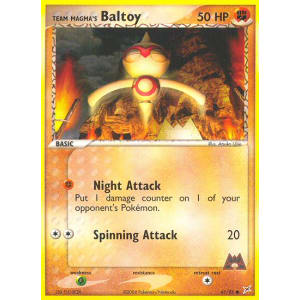 Team Magma's Baltoy - 61/95