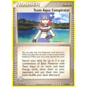 Team Aqua Conspirator - 77/95
