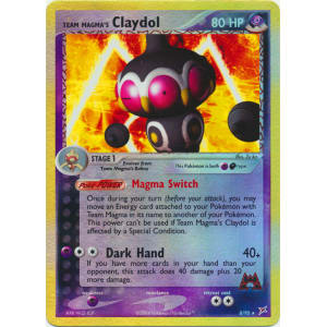 Team Magma's Claydol - 8/95 (Reverse Foil)