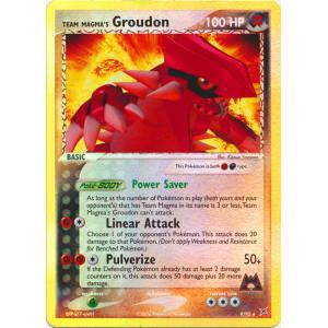 Team Magma's Groudon - 9/95 (Reverse Foil)