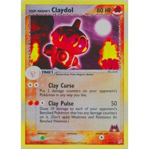 Team Magma's Claydol - 33/95 (Reverse Foil)