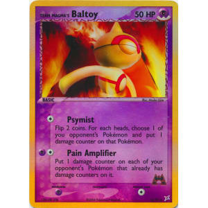 Team Magma's Baltoy - 32/95 (Reverse Foil)