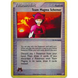 Team Magma Schemer - 70/95 (Reverse Foil)