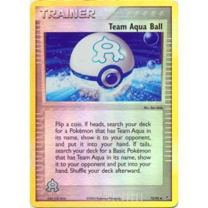 Team Aqua Ball - 75/95 (Reverse Foil)
