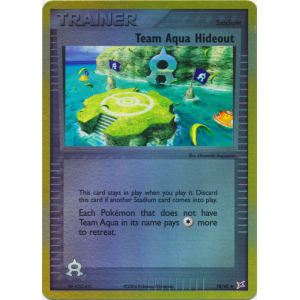 Team Aqua Hideout - 78/95 (Reverse Foil)