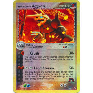 Team Magma's Aggron - 7/95 (Reverse Foil)