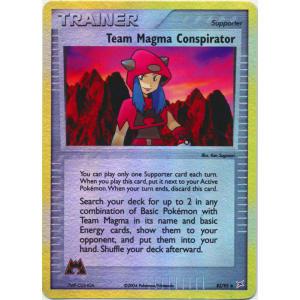 Team Magma Conspirator - 82/95 (Reverse Foil)
