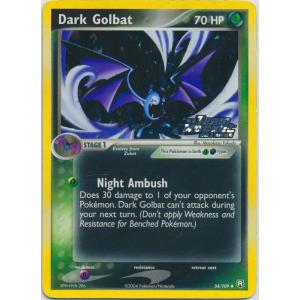 Dark Golbat - 34/109 (Reverse Foil)