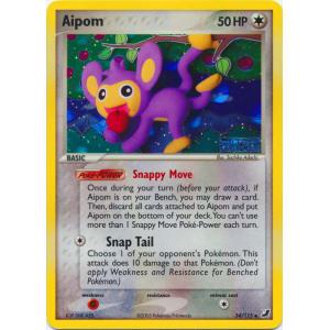 Aipom - 34/115 (Reverse Foil)