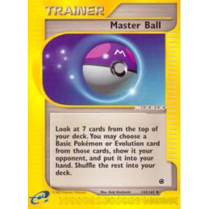 Master Ball - 143/165