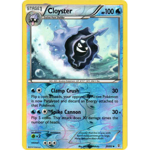Cloyster - 20/83 (Reverse Foil)