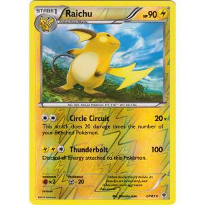 Raichu - 27/83 (Reverse Foil)